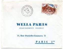 BOUCHES Du RHONE - Dépt N° 13 = MARSEILLE 01 HOTEL Des POSTES 1968 = CACHET MANUEL A8 - Marcofilia (sobres)