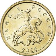 Monnaie, Russie, Kopek, 2005, Saint-Petersburg, SUP, Copper-Nickel Plated Steel - Russie