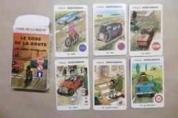 """Jeu De 7 Familles Automobiles """"Le CODE DE LA ROUTE"""" Panneaux De Signalisation - Playing Cards (classic)"""
