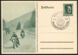 """III. Reich Mi.-Nr.P264/05 Mit SST """"Nürnberg 6.9.1937"""" Pracht - Storia Postale"""