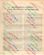 ANNUAIRE - 04 - Département Basses Alpes - Année 1933 - édition De Didot Bottin - 19 Pages - Annuaires Téléphoniques