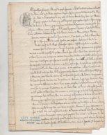 Randan Riom Puy De Dôme 1873 De 14 Pages - Manuscrits
