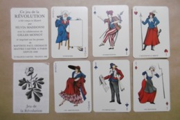 """Jeu De 7 Familles Histoire De France """"La Révolution Française"""" Personnages Historiques - Cartes à Jouer Classiques"""