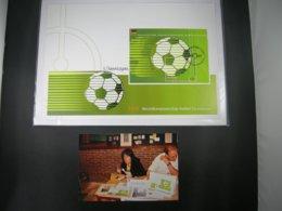 """BELG.2006 BL131 FDC Filatelic Card :""""Unieke Mooie Kaart Met Handtekening ELS VANDEVYVERE (ontwerper Kaart )"""" - FDC"""