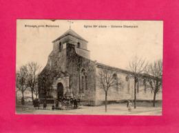 17 Charente Maritime, Brouage, Eglise, Colonne Champlain, Animée, (Nlles Galeries) - Frankrijk