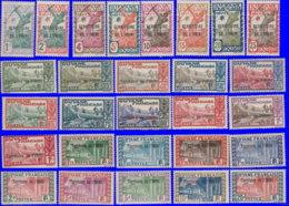 Inini 1932. ~ YT 1 à 28* -  TP De Guyane Surchargés - Inini (1932-1947)