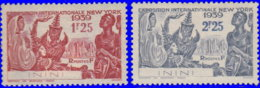 Inini 1939. ~ YT 29 à 30* -  Expositon De N.Y. - Inini (1932-1947)