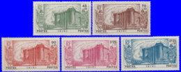 Inini 1939. ~ YT 31 à 35* - 150 Ans Révolution Françcaise - Inini (1932-1947)