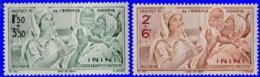 Inini Aérien 1942. ~ A 1 à 2* - Protection Enfance - Inini (1932-1947)
