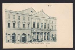 17709 Bari - Facciata Del Palazzo Di Città E Del Teatro Piccinni F - Bari