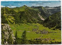 Tannheim In Tirol, 1111m, Austria, 1980 Used Postcard [23479] - Tannheim