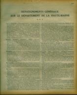ANNUAIRE - 52 - Département Haute Marne - Année 1930 - édition Didot-Bottin - 39 Pages - Telefonbücher