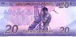 SOLOMON ISLANDS P. 34 20 D 2017 UNC - Isla Salomon