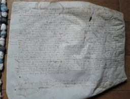 Normandie Parchemin Auvilliers 1603 - Manuscrits