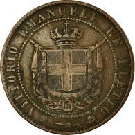 Monnaie, États Italiens, TUSCANY, Provisional Government, 5 Centesimi, 1859 - Toscane