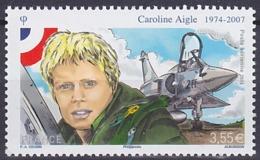 Timbre PA Neuf ** N° 78(Yvert) France 2014 - Aviation, Caroline Aigle, Mirage 2000 - Poste Aérienne