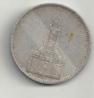 5 Reichsmark 1935 D Deutsches Reich.Silber. - [ 4] 1933-1945: Drittes Reich