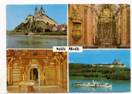 Stift Melk, Austria, Used Postcard [23485] - Austria