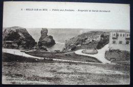 CPA 56 BELLE ILE EN MER - Pointe Des Poulains - La Propriété De Sarah Bernhardt - Petitjean 9 - Réf. J 85 - Belle Ile En Mer