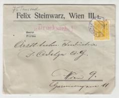 Felix Steinwarz, Wien Company Letter Cover Travelled 1923 B190920 - Cartas