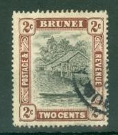Brunei: 1908/22   Brunei River View   SG36     2c        Used - Brunei (...-1984)