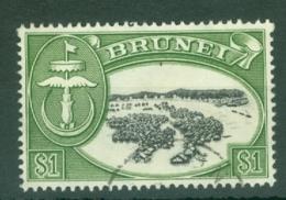 Brunei: 1964/72   Sultan Omar Saifuddin  SG129   $1   Used - Brunei (...-1984)