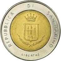Monnaie, San Marino, 500 Lire, 1983, Rome, TTB, Bi-Metallic, KM:153 - Saint-Marin