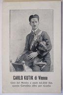 Künstler Carlo Kutik Di Vienna, Giro Del Mondo, Ca. 1910 (22179) - Sonstige