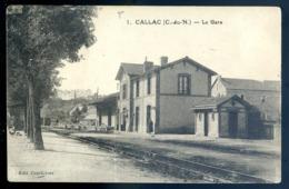 Cpa Du 22 Callac La Gare  LZ47 - Callac