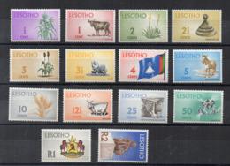 Leshoto - 1971 - Prodotti Nazionali E Visite Turistiche - 14 Valori - Nuovi - Linguellati - (FDC16856) - Lesotho (1966-...)