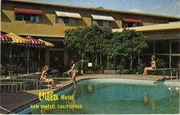 Pin-Ups Girls,costume Da Bagno. Villa Hotel - San Mateo - California - U.S. - Pin-Ups