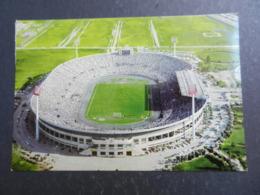 19983) CILE SANTIAGO STADIO NACIONAL ESTADIO STADIO FOOTBALL NON VIAGGIATA MA AFFRANCATA - Cile