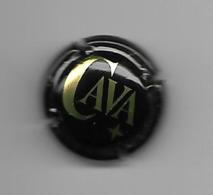 ESPAGNE  - CAPSULE CAVA FOND NOIR - Placas De Cava