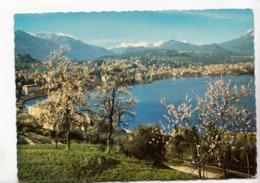 Lugano-Paradiso, Panorama Generale, Switzerland, Used Postcard [23493] - TI Ticino