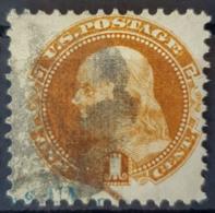USA 1869 - Canceled - Sc# 112 - 1c - 1847-99 Algemene Uitgaves