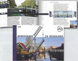 NEDERLAND, 2018, PRESTIGE BOOKLET, PR 75, EUROPA Booklet, Bridges - Libretti