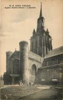 62 - Calais - Eglise Notre Dame - L'abside - Carte Neuve - Voir Scans Recto-Verso - Calais