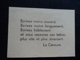 Prisonnier De Guerre STO Berlin Paris Falkensee Stalag Oflag WWII Ae Censure Reco 1943 Lettre Carte CPA - Documents Historiques