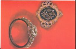 CPA DIFFERENT MATERIALS, GOLD, JEWELRIES, BRACELET AND BROOCH FROM FRANCE - Cartoline