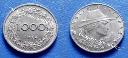 AUSTRIA  1000 Kronen 1924 - Oostenrijk