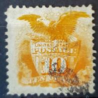 USA 1869 - Canceled - Sc# 116 - 10c - 1847-99 Unionsausgaben