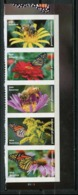 USA 2017 / Flowers Butterflies Bees MNH Flores Mariposas Abejas Blumen Schmetterlinge Bienen / Cu6720  36-36 - Mariposas