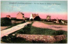 29 KERSAINT-PLOUDALMEZEAU - Vue Des Ruines Du Chateu De Trémazan - France