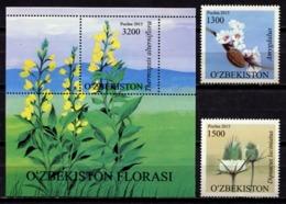 Uzbekistan 2015 / Flowers MNH Flores Fleurs Blumen / C10731  36-37 - Vegetales