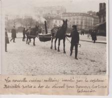 CUISINIER NOUVELLE CUISINE MILITAIRE MARINITCH CHEVAL TRAVERSER TERRES 18*13CM Maurice-Louis BRANGER PARÍS (1874-1950) - Profesiones