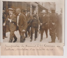 ARRESTATION CAMELOT DU ROI MONUMENT J J ROUSSEAU AU PANTHEON 18*13CM Maurice-Louis BRANGER PARÍS (1874-1950) - Fotos
