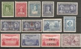 NEWFOUNDLAND 1938 - 1947 SETS MOUNTED MINT (ODD UNMOUNTED MINT SEEN) Cat £24 - 1908-1947