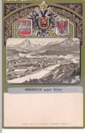 AUTRICHE(INNSBRUCK) CARTE GAUFREE - Innsbruck