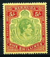 Bermudas (Británica) Nº 116 Nuevo* Cat.40€ - Bermudas