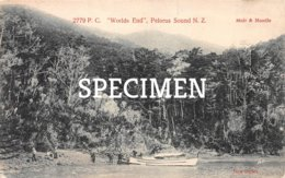 2779 P.C. World's End Pelorus Sound New Zealand - New Zealand